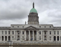 Dublin with Custom House Stock Photos