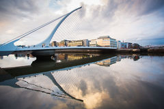 Dublin Docklands Stock Photo