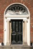 Dublin door Stock Photography