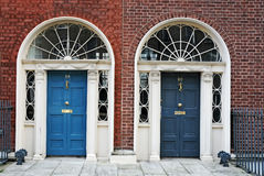 Dublin doors Stock Images