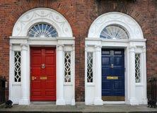 Dublin doors stock photos