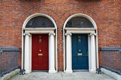 Dublin doors Stock Photo