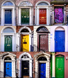 Dublin doors Royalty Free Stock Photography