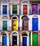 Dublin doors royalty free stock photography