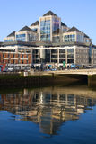 Dublin Downtown Stock Image