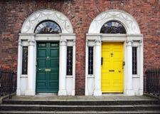 Dublin drzwi Obrazy Stock