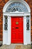 Dublin drzwi obraz stock