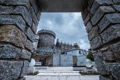 dublin för den bedford slottclosen tower det genelogical kontoret upp Royaltyfria Bilder