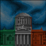 Dublin - Four Courts - Royalty Free Stock Images
