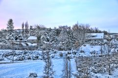 dublin gór śnieg Obraz Stock