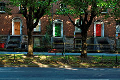 Dublin georgian drzwi obrazy royalty free