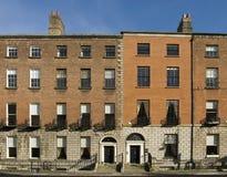 Dublin-georgische Häuser Lizenzfreies Stockbild