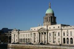 Dublin-Grenzstein stockfoto