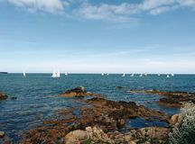 Dublin Harbour Fotografia Stock