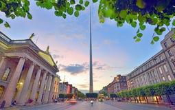 Dublin iglica Zdjęcia Stock