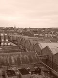 Dublin Industrial Disctrict in Black and White Royalty Free Stock Photography