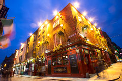 Temple Bar District Stock Photography