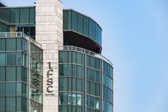 DUBLIN Ireland - August 2, 2015: Ireland's International Financi Royalty Free Stock Image