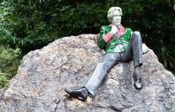 Oscar Wilde stock image
