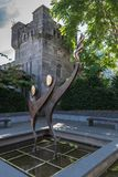 Special Olympics statue at The Castle, Dublin Ireland. Royalty Free Stock Photo