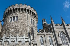 Central watchtower of The Castle, Dublin Ireland. Royalty Free Stock Images