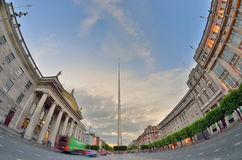 Dublin, Ireland center symbol - spire Royalty Free Stock Images