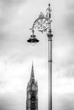 Dublin Ireland design Lamplight Art Deco HDR Stock Photography