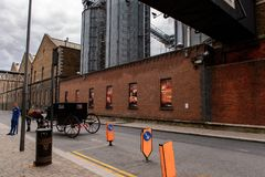 Guinness Brewery, Ireland. DUBLIN, IRELAND - JULY 12, 2016: Guinness Brewery. Guinness is an Irish dry stout produced by Diageo originated in the brewery of Stock Photos