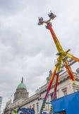 DUBLIN, IRELAND - MARCH 17: Saint Patrick's Day Fair in Dublin, Stock Image