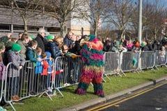 Dublin, Ireland 17 March 2019 St Patrics Day Parade stock images