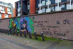 Dublin, Ireland – March 2019. Streets and buildings of historical city Dublin, capital of Ireland royalty free stock photos