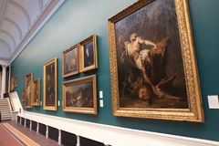 National Gallery in Dublin royalty free stock image
