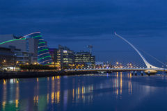 Samuel Beckett Bridge - Dublin - Ireland Royalty Free Stock Images