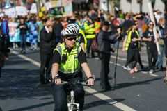 Garda - Irish police officers Stock Photography