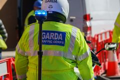 Garda - Irish police officers Stock Photo