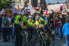Garda - Irish police officers Stock Photos
