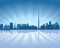 Dublin, Ireland skyline Royalty Free Stock Image