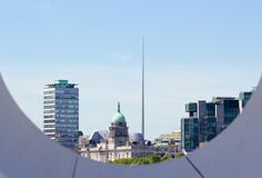 Dublin, Ireland skyline Royalty Free Stock Photography