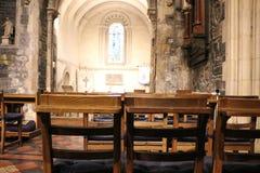 DUBLIN, IRLAND - 22. Februar 2018: Innenraum von Christus-Kirche am 22. Februar in Dublin Christus-Kirche ist die Hauptkathedrale Stockfotografie
