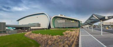 Dublin, Irlande - 20 mai 2018 : Dublin Airport Terminal 2 construit Images libres de droits
