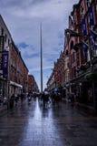 Dublin Irlandia, Lipiec 1 -, 2018: Iglica Dublin fotografia royalty free