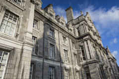 DUBLIN -JANUARY 12: Trinity College on January 12, 2015, Dublin. Royalty Free Stock Photos