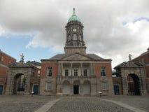 Dublin kasztelu wejście Zdjęcia Stock