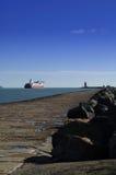 Dublin kust Fotografering för Bildbyråer