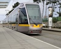 Dublin Luas stock photography