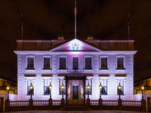 The Dublin Mansion House stock photography