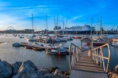 Dublin Marina Stock Image