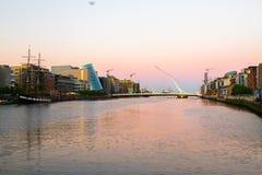 Dublin miasto Obrazy Stock
