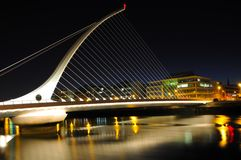 Dublin at night Royalty Free Stock Image