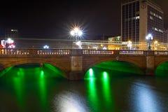 Dublin at night Royalty Free Stock Photo